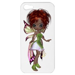 Fairy magic faerie in a dress Apple iPhone 5 Hardshell Case