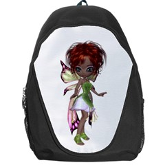 Fairy magic faerie in a dress Backpack Bag