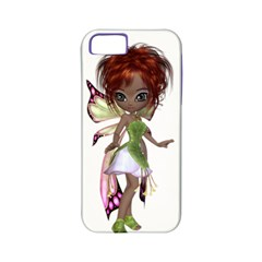 Fairy Magic Faerie In A Dress Apple Iphone 5 Classic Hardshell Case (pc+silicone)