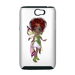 Fairy magic faerie in a dress Samsung Galaxy Note 2 Hardshell Case (PC+Silicone)