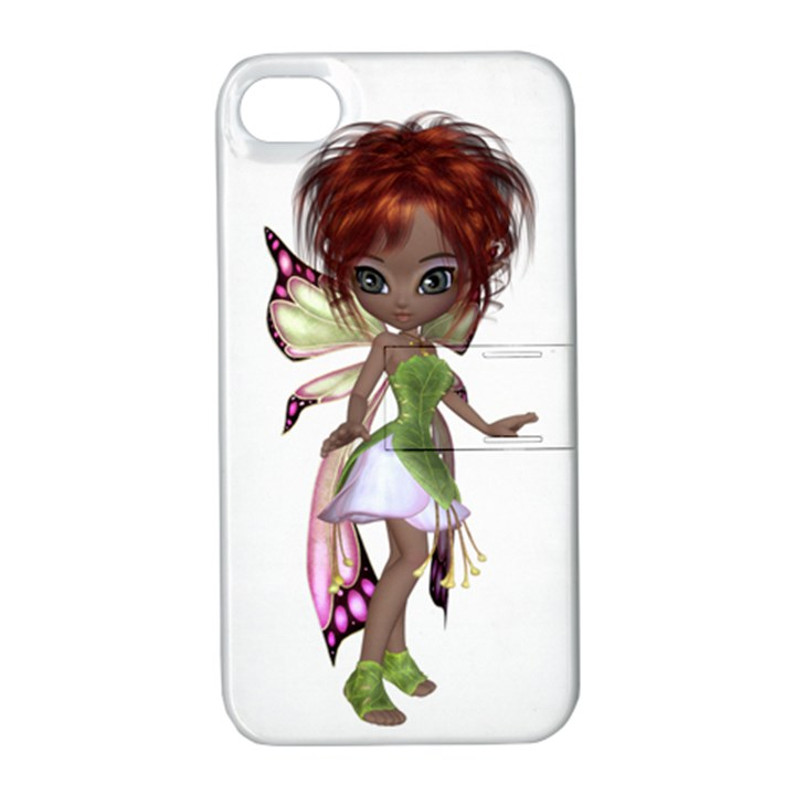 Fairy magic faerie in a dress Apple iPhone 4/4S Hardshell Case with Stand