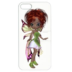Fairy magic faerie in a dress Apple iPhone 5 Hardshell Case with Stand