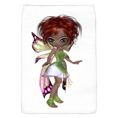 Fairy magic faerie in a dress Removable Flap Cover (Small)