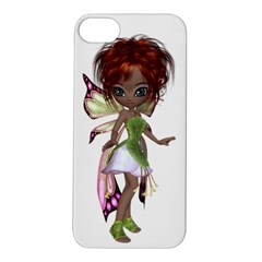 Fairy magic faerie in a dress Apple iPhone 5S Hardshell Case