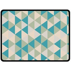 Triangles Fleece Blanket (extra Large)