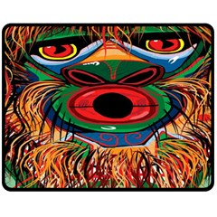 D sonoqua: Whistling Woman Of The Woods Fleece Blanket (medium)