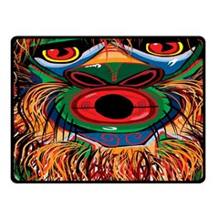 D sonoqua: Whistling woman of the woods Fleece Blanket (Small)