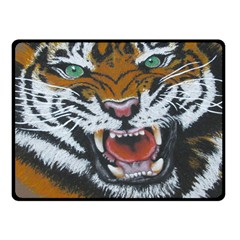 The Eye of the Tiger Fleece Blanket (Small)