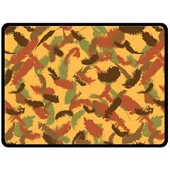 Feathers Fall Fleece Blanket (Extra Large)