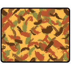 Feathers Fall Fleece Blanket (Medium)