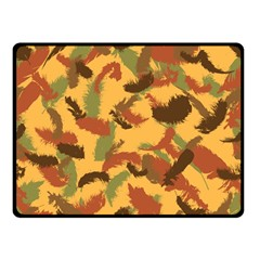 Feathers Fall Fleece Blanket (small)