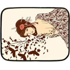 Come to life Mini Fleece Blanket (Two Sided)