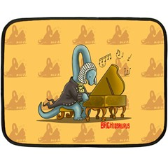 BACHiosaurus Mini Fleece Blanket (Two Sided)