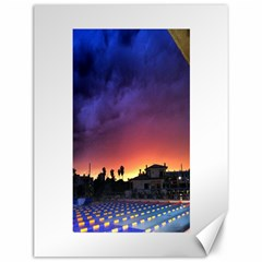 Storm Sunset Canvas 12  X 16  (unframed)