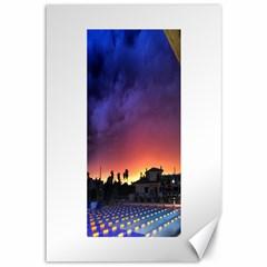 Storm Sunset Canvas 12  X 18  (unframed)