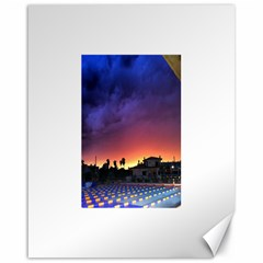 Storm Sunset Canvas 16  X 20  (unframed)