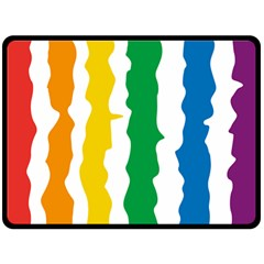 Rainbow Cake Fleece Blanket (extra Large)