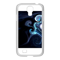 L499 Samsung GALAXY S4 I9500/ I9505 Case (White)