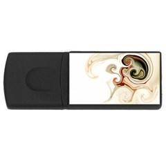 L500 2GB USB Flash Drive (Rectangle)