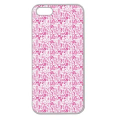 Anatomy Apple Seamless iPhone 5 Case (Clear)