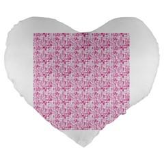 Anatomy 19  Premium Heart Shape Cushion
