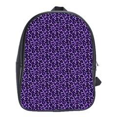 Leopard Print School Bag (Large)