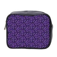 Leopard Print Mini Travel Toiletry Bag (Two Sides)