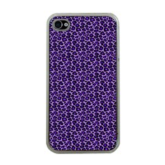 Leopard Print Apple iPhone 4 Case (Clear)