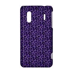 Leopard Print HTC Evo Design 4G/ Hero S Hardshell Case