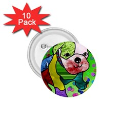 Pug 1.75  Button (10 pack)