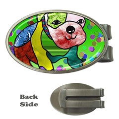 Pug Money Clip (Oval)