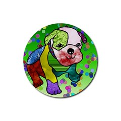 Pug Drink Coasters 4 Pack (Round)
