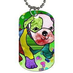 Pug Dog Tag (Two-sided)