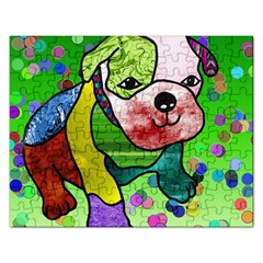 Pug Jigsaw Puzzle (Rectangle)
