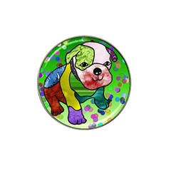 Pug Golf Ball Marker 4 Pack (for Hat Clip)
