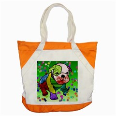 Pug Accent Tote Bag