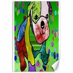 Pug Canvas 20  x 30  (Unframed)