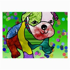 Pug Glasses Cloth (Large, Two Sided)