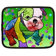 Pug Netbook Sleeve (large)