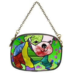 Pug Chain Purse (One Side)