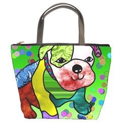 Pug Bucket Handbag