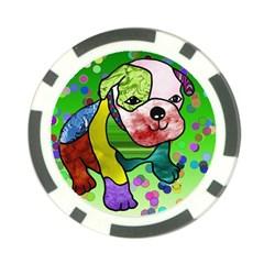 Pug Poker Chip (10 Pack)