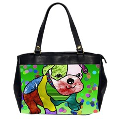 Pug Oversize Office Handbag (Two Sides)