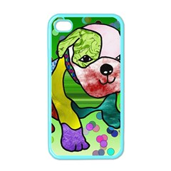 Pug Apple iPhone 4 Case (Color)