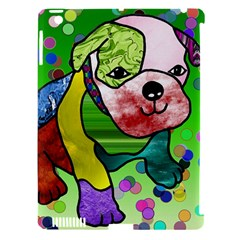 Pug Apple iPad 3/4 Hardshell Case (Compatible with Smart Cover)