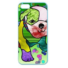 Pug Apple Seamless iPhone 5 Case (Color)