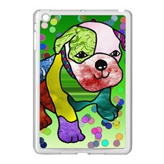 Pug Apple iPad Mini Case (White)