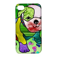 Pug Apple Iphone 4/4s Hardshell Case With Stand