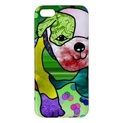 Pug iPhone 5 Premium Hardshell Case