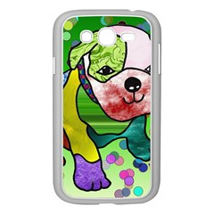 Pug Samsung Galaxy Grand DUOS I9082 Case (White)